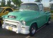 '55 GMC Pickup (Centropolis Laval '10)