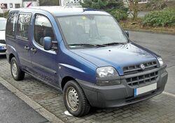 Fiat Doblo front