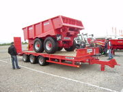Redrock trailers at SED 09 - P4250117