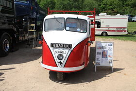 Scammell Scarab - (6533 UK) at Gaydon 2013IMG 2538