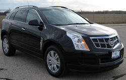 2010 Cadillac SRX -- NHTSA