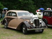 Daimler Eighteen Dolphin sports saloon 1940 5918261334 8e01cc933a o