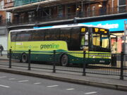 Green Line coach on finchley road