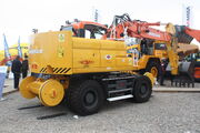 Phimor Roa-rail Doosan excavator at SED 09 - IMG 8303