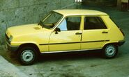 Renault 5 First generation with 5 doors in Spai