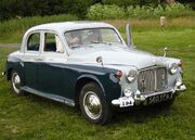 Rover 80 built 1960