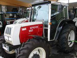 Steyr 667 MFWD (Valmet) - 1996