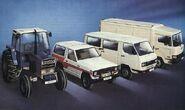 1980s EBRO Motor Iberica SA Model Range