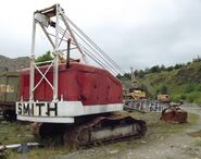 A 1970s Smith Of Rodley Crawler Dragline Diesel
