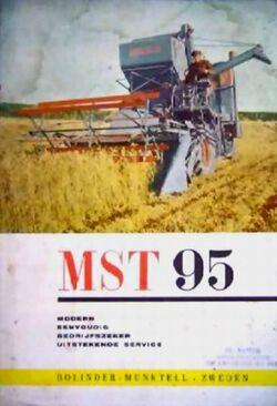 Bolinder-Munktell MST 95 combine