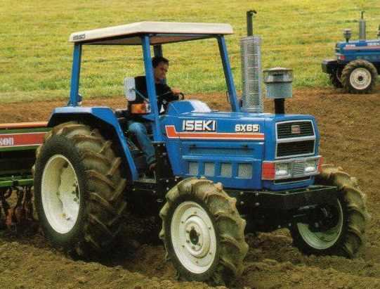 Iseki SX65 | Tractor & Construction Plant Wiki | FANDOM powered by Wikia