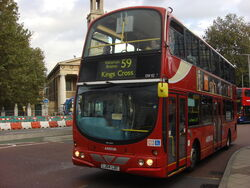 London Bus route 59 A