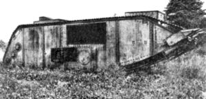 US Army Corps Of Engineers Steam Tank 1918