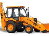 ACE AX 130 backhoe