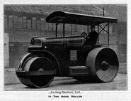 A 1940s Aveling-Barford 10 T Roadroller