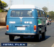 BSB Flex cars 118 09 2008 VW Kombi Total Flex with logo blur