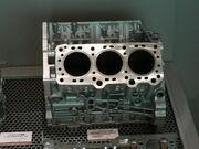 Cylinder block for V6 Diesel