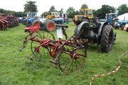 Fella hay-tedder behind Fordson standard tractor - VFF 791 (nr Coventry) - IMG 1046