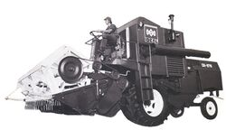 IDEAL CA-875 b&w combine - 1978