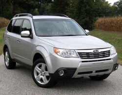 2010 Subaru Forester 2.5X Limited 6 -- 10-02-2009