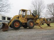 A 1970s AWD Michigan 75A 4WD British built Loader Diesel