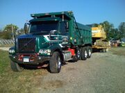 Volvo VHD84b Tri-axle Dump Truck