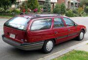 1st Ford Taurus wagon -- 04-11-2012 rear 2