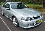 2002-2004 Ford BA Falcon XR6 sedan 01