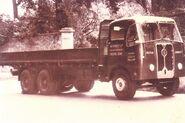 A 1950s Rutland Platform Cargo Lorry Diesel 6X4