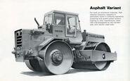 A 1960s Aveling Barford VXC011 Roadroller Diesel