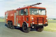 A 1970s Thornycroft Nubian 6X6 Merryweather Firetender