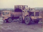 A 1980s weatherill l66b 4WD loader
