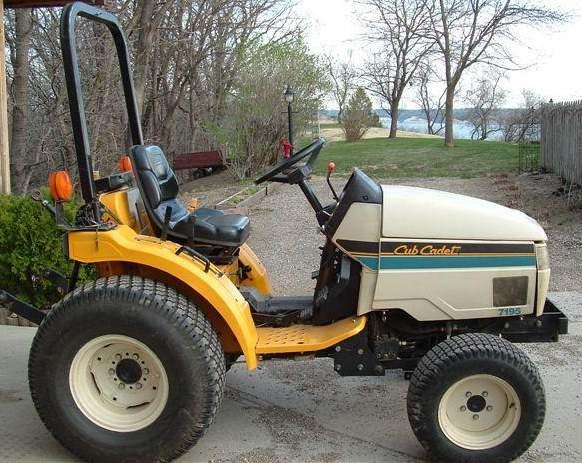 Cub Cadet 7195   Tractor & Construction Plant Wiki   FANDOM