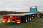 Dennison Artic flatbed triaxle trailer - IMG 3528