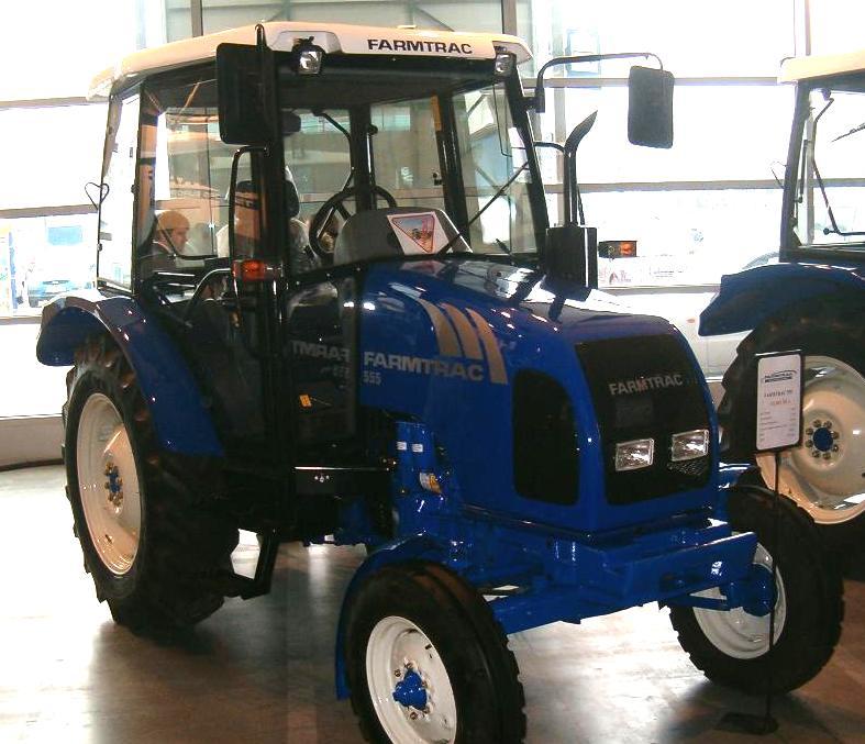 Farmtrac 555 | Tractor & Construction Plant Wiki | FANDOM