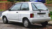 Ford Festiva rear -- 10-24-2009.jpg