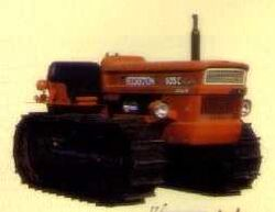 Hesston 605C crawler - 1980