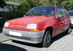 Renault 5 front 20070801