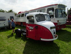 Scammell tractor reg 6533 UK at Lymswold - P7270154