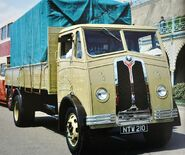 A 1950s Proctor Lorry Diesel 7 Ton preserved