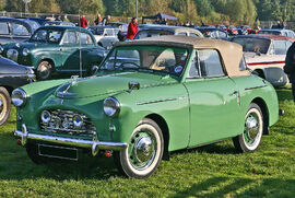 Austin A40 Sports front