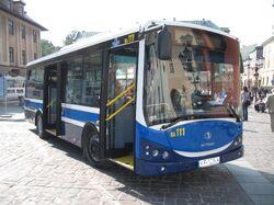 Autosan M09LE Sancity in Kraków (Mały Rynek)