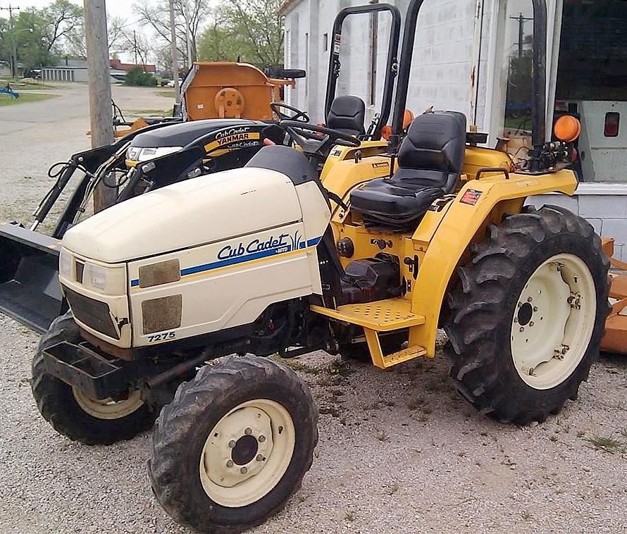 Cub Cadet 2544 Garden Tractor : Cub cadet tractor construction plant wiki