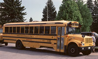 mid to late 1990s Thomas Built Buses Conventional on International 3800 chassis