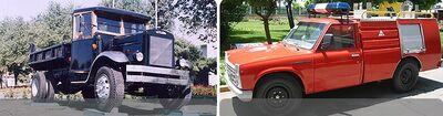 Shahab Khodro trucks