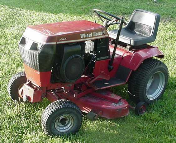 Wheel Horse 314-A   Tractor & Construction Plant Wiki