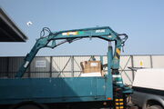 Atlas lorry mounted crane 1403 A7 from 1990 IMG 6191small