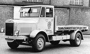 A 1930s Thornycroft Taurus Flatbed Lorry