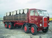 A 1950s Scammell Rigid 8 Delivery Lorry