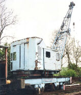 A 1970s Smith Of Rodley Railway Crane Diesel 20T